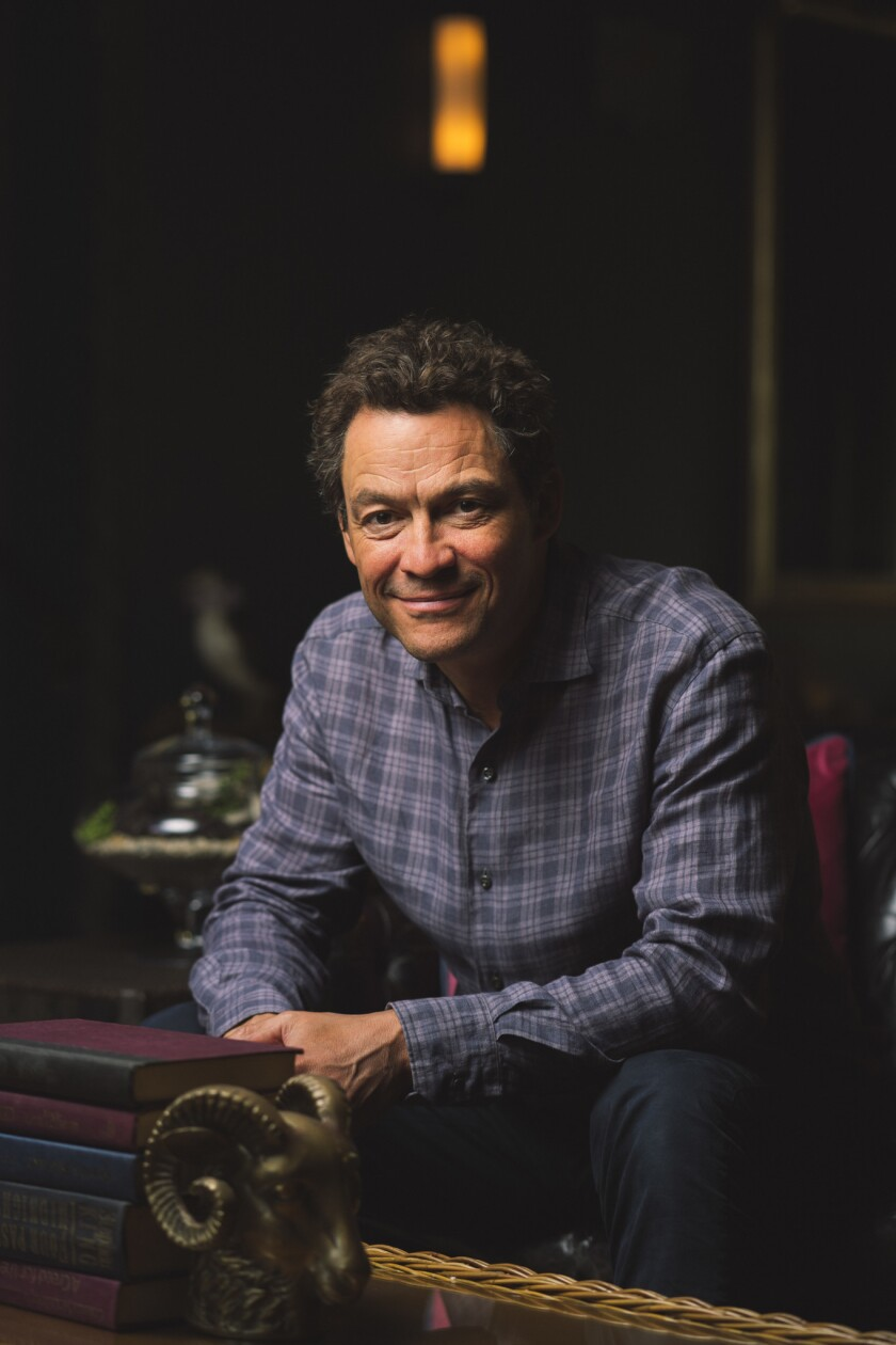 SANTA MONICA, CALIF. - MARCH 28: Actor Dominic West poses for a portrait at Palihouse Santa Monica o