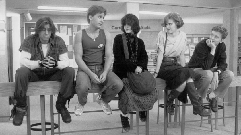"1985's ""The Breakfast Club,"" starring Judd Nelson, Emilio Estevez, Ally Sheedy, Molly Ringwald and Anthony Michael Hall, gets the Criterion Collection Blu-ray treatment."