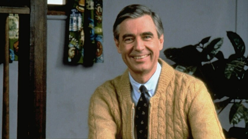 Tuesday S Tv Highlights Mister Rogers It S You I Like And More Los Angeles Times