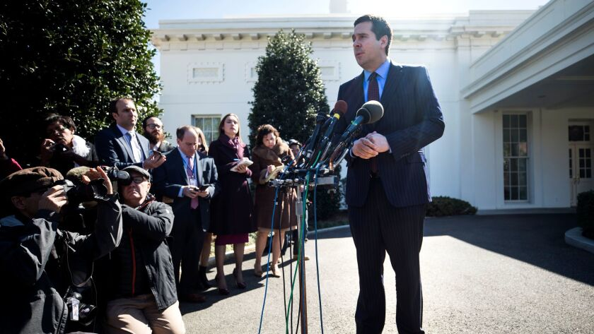 Nunes Speaks on Surveilance of Trump's Transition Team at White House