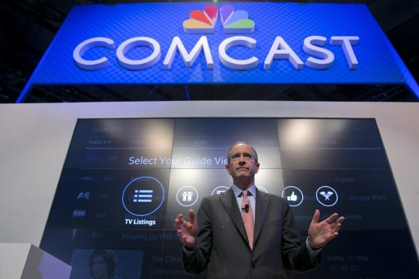 Don't worry; it's all good: Comcast CEO Brian Roberts says his merger with Time Warner Cable will be great for customers.