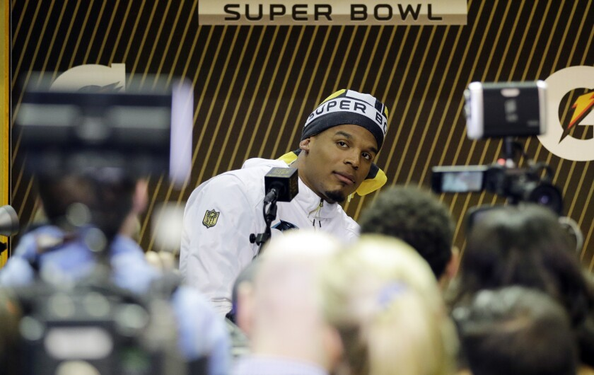Cam Newton impressed Boomer Esiason at a young age