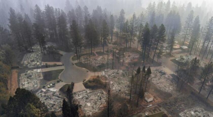 California fires bring upheaval to utilities as they face massive