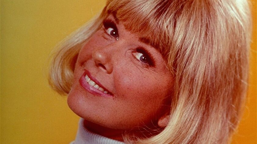 Actress–singer Doris Day, is shown in this 1968 photo, was a recording star in the 1940s and a popul