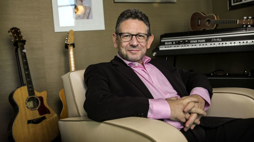 SANTA MONICA, CA, FEBRUARY 05, 2014 - Lucian Grainge, chairman of the world's largest music company,