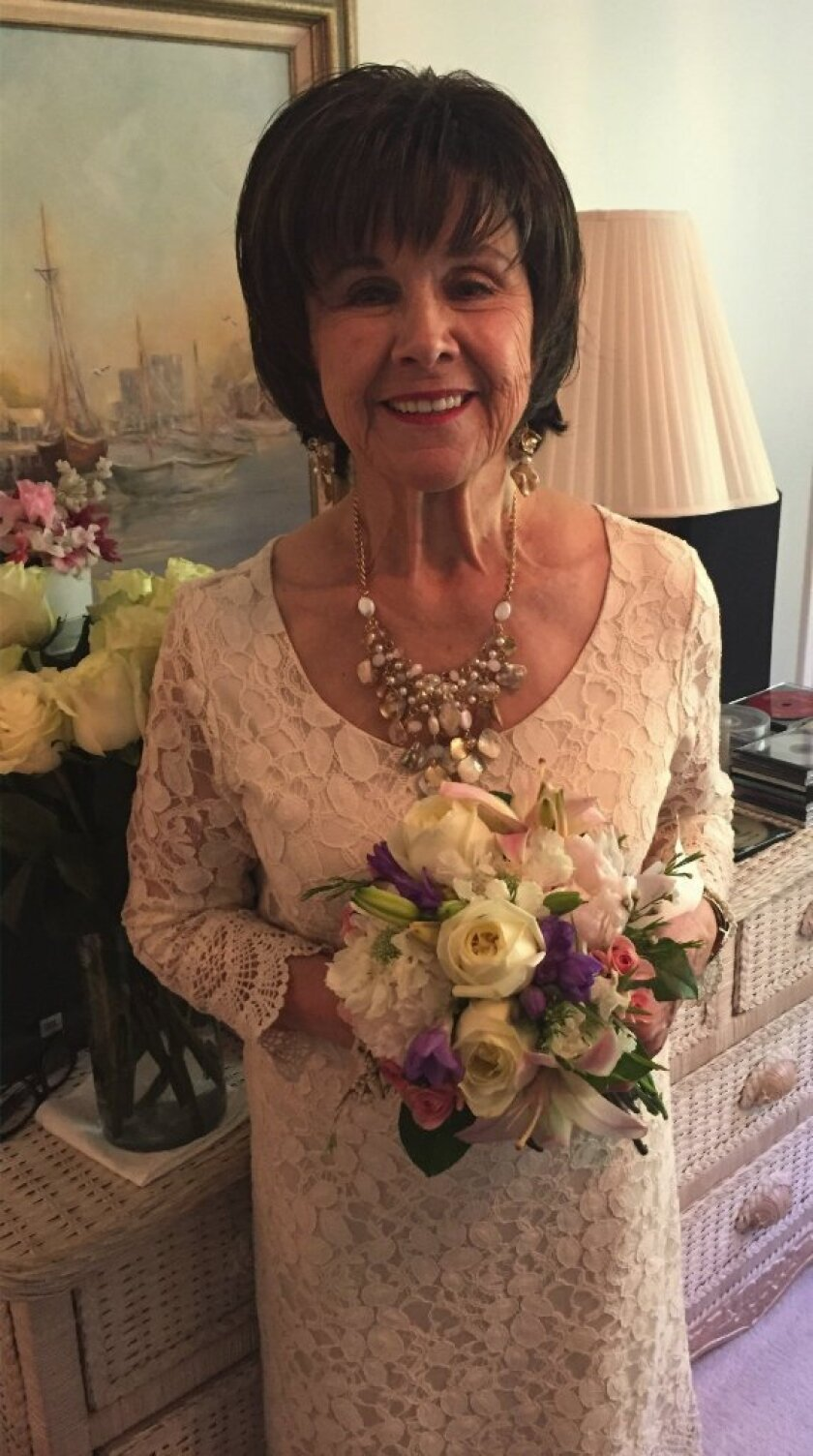 Angie Osborn on her wedding day in Utah. Courtesy photo