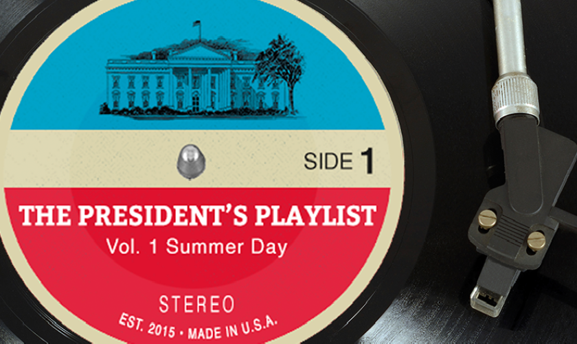 President Obama's Spotify playlist