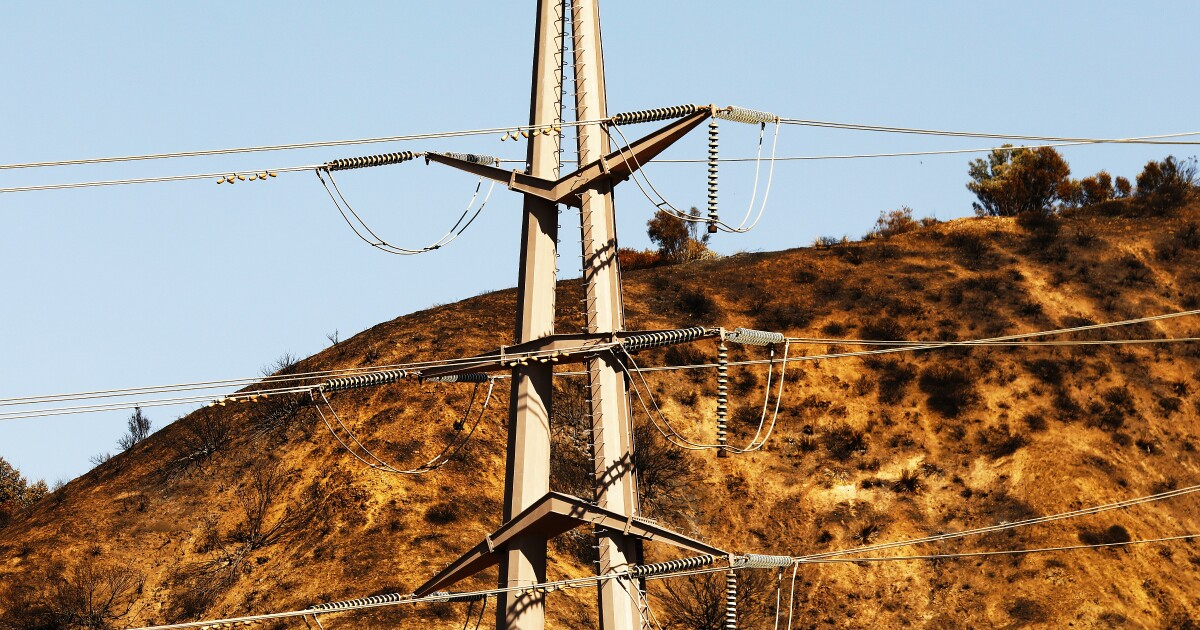 Where SoCal Edison may shut off power around L.A.