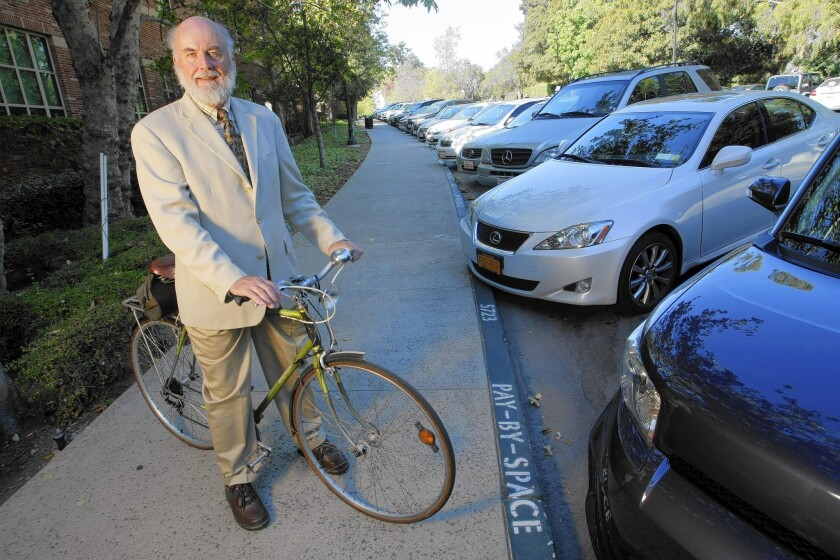 Donald Shoup, a UCLA professor and Yale-trained economist, has been called the rock star of parking.