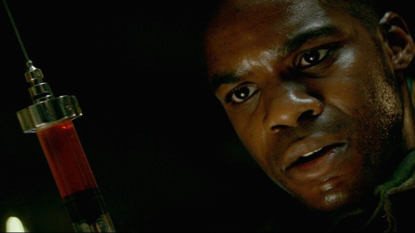 """Jovan Adepo as Boyce in """"Overlord."""" The movie, directed by Julius Avery, will be having its world premiere as part fo the 2018 Fantastic Fest in Austin, Texas."""