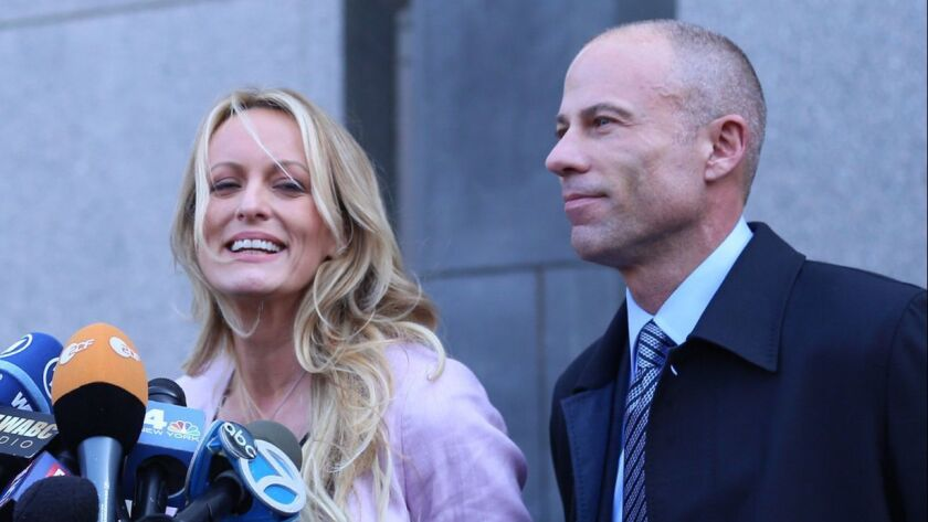 Stormy Daniels say she is considering parting ways with attorney Michael Avenatti, who is representing her in two lawsuits.