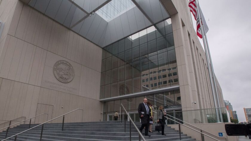 The new $555.5 million state court building was formally dedicated in a ceremony closed to the public on Monday, June 5, 2017. When the building finally opens it will employ 67 fewer employees.
