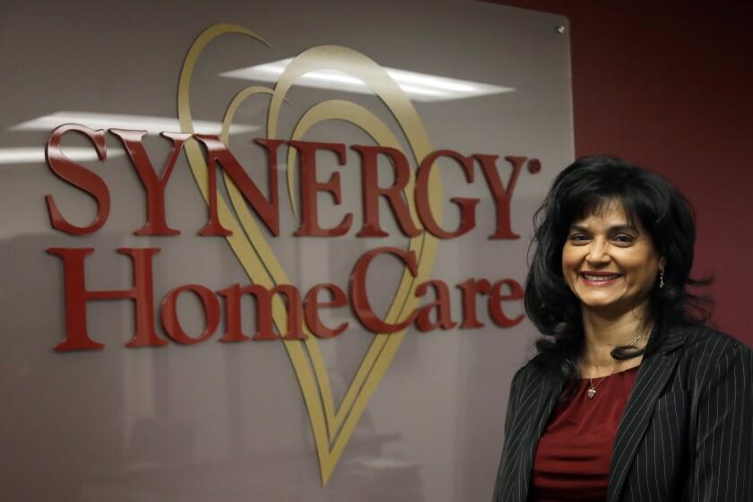 Saili Gosula, executive director of Synergy HomeCare