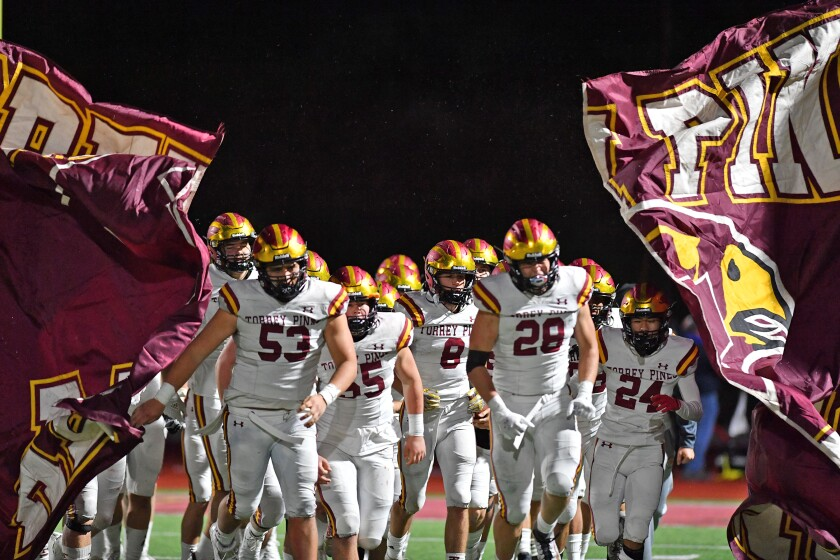 Torrey Pines High School football returned to the field on March 12.