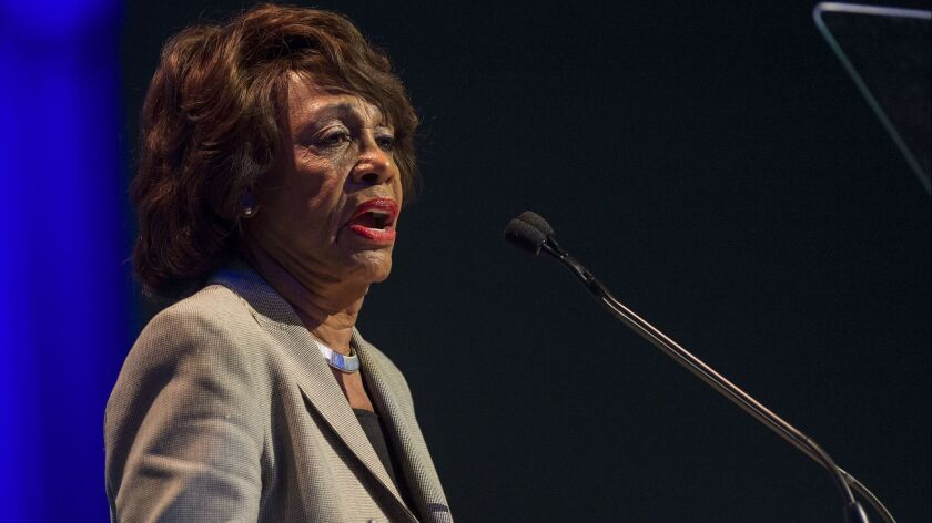 President threatens violence against California Rep. Maxine Waters in response to her rebuke of his administration
