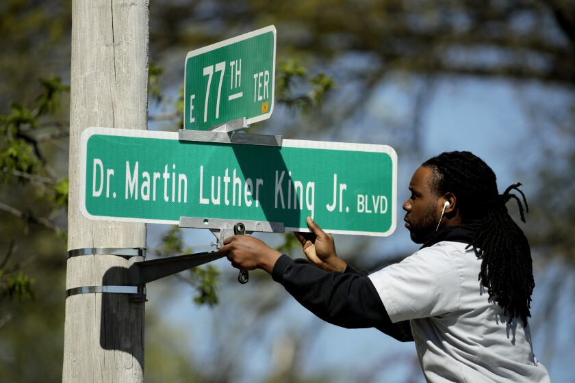Martin Luther King Jr. street