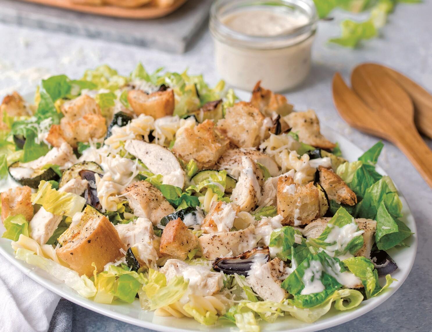 Add-ins redefine Caesar salad
