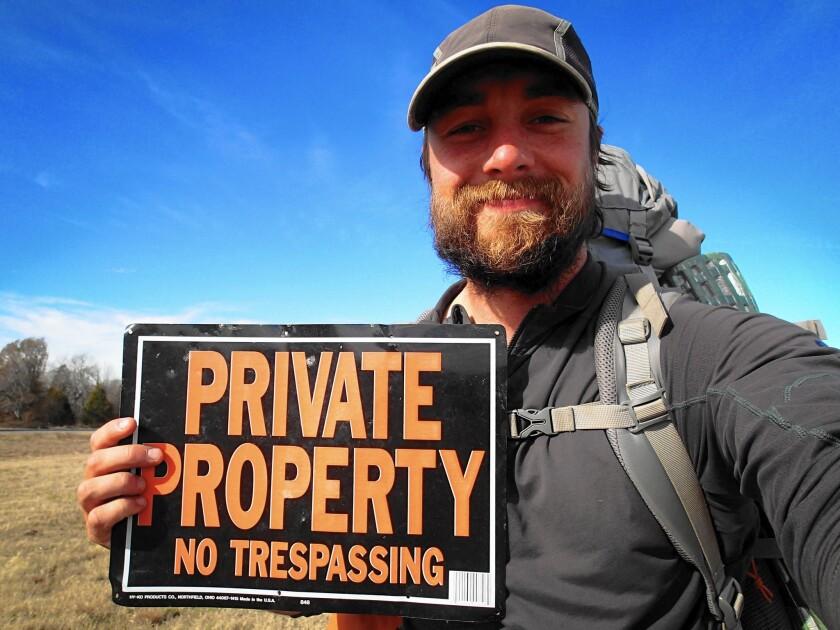 Ken Ilgunas, author of 'Trespassing Across America'