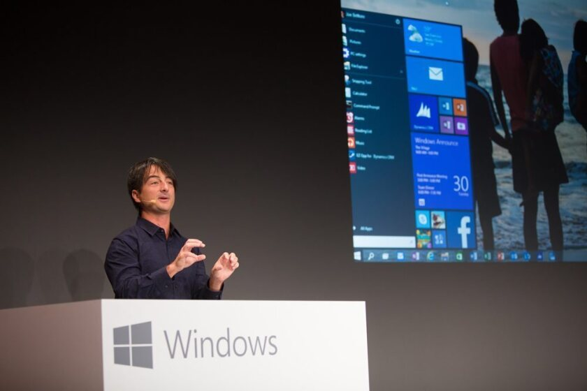 Windows 10 introduced