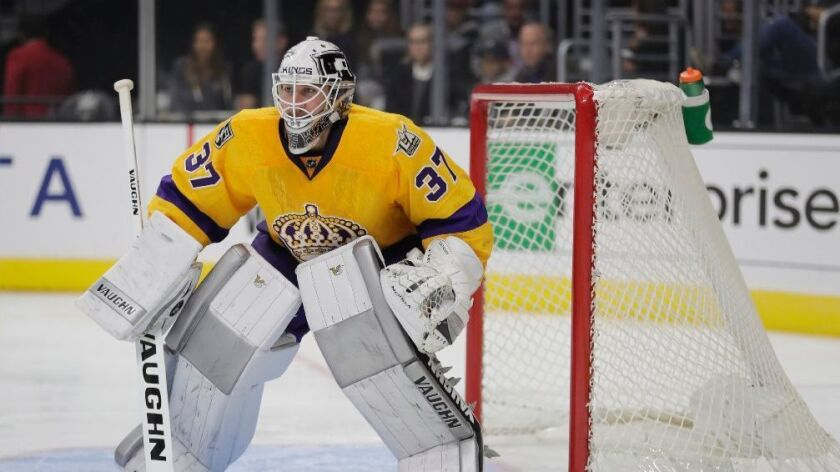 The injuries are mounting for the Kings, though goalie Jeff Zatkoff is due to return soon
