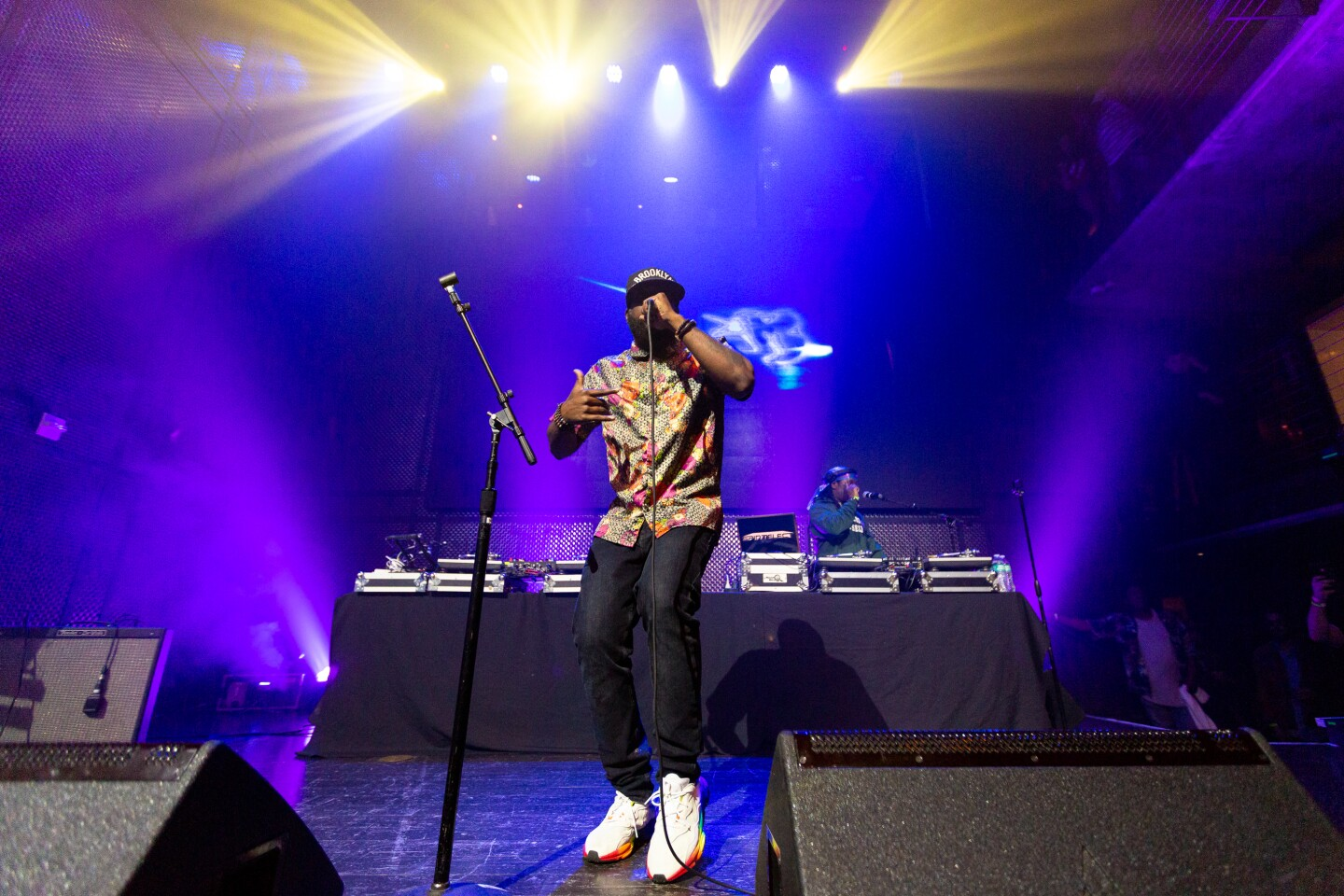 Conscious hip-hop rapper put on an amazing show at Music Box on Thursday, August 1, 2019.