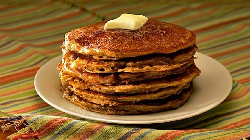 Country Gourmet's whole wheat pancakes
