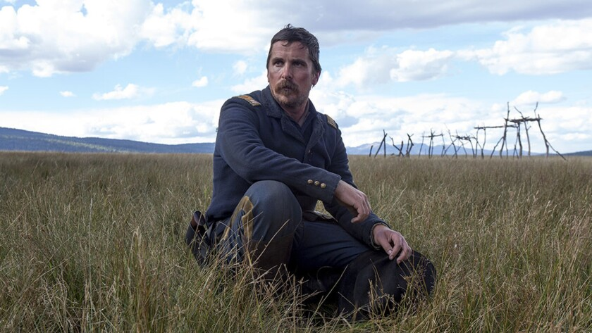 "***HOLIDAY SNEAKS 2017***DO NOT USE PRIOR*****Christian Bale in ""Hostiles"" movie directed by Scott C"