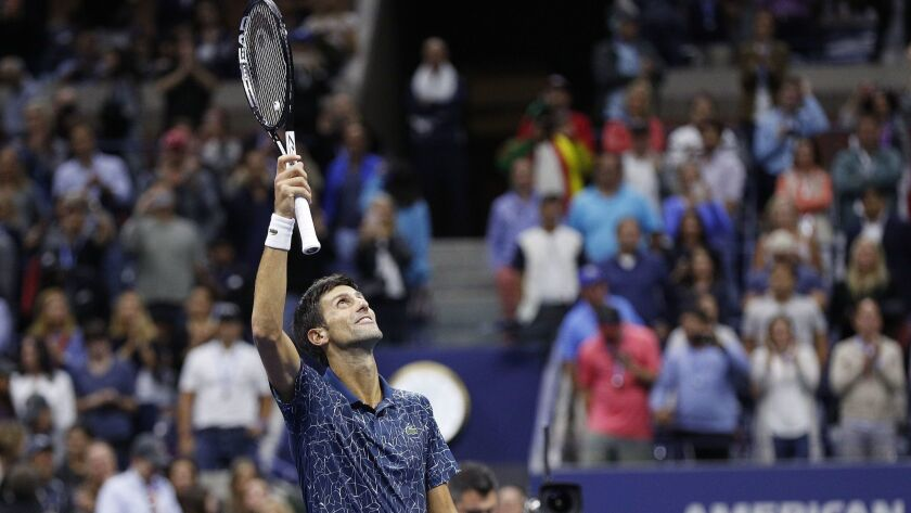 USA TENNIS US OPEN 2018, New York - 09 Sep 2018