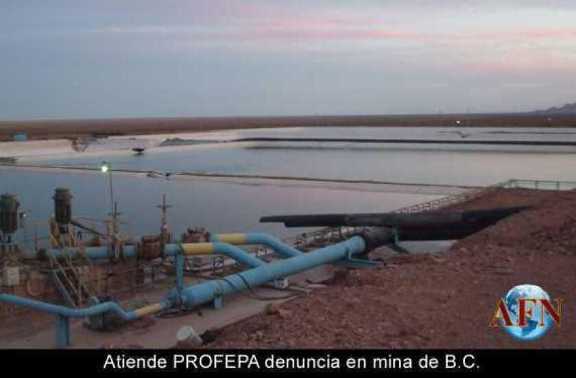 Atiende PROFEPA denuncia en mina de B.C.