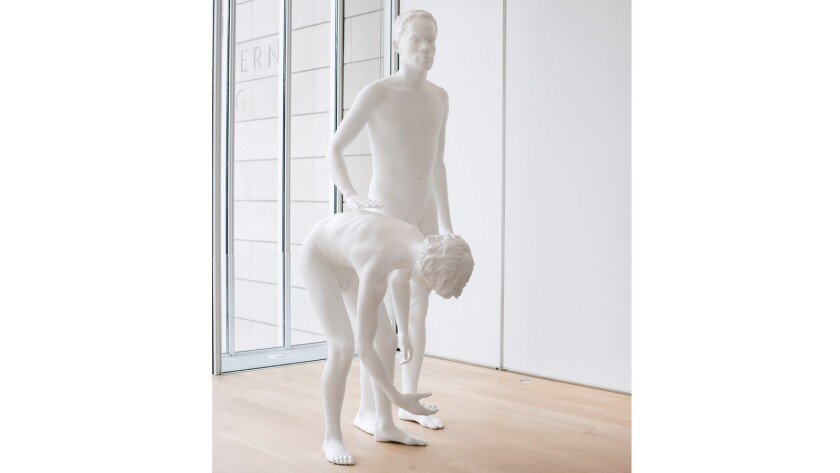 """""""Huck and Jim"""" at the Art Institute of Chicago."""
