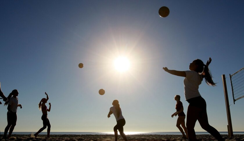 Does winter beach weather trump population growth in buttressing San Diego's economy?