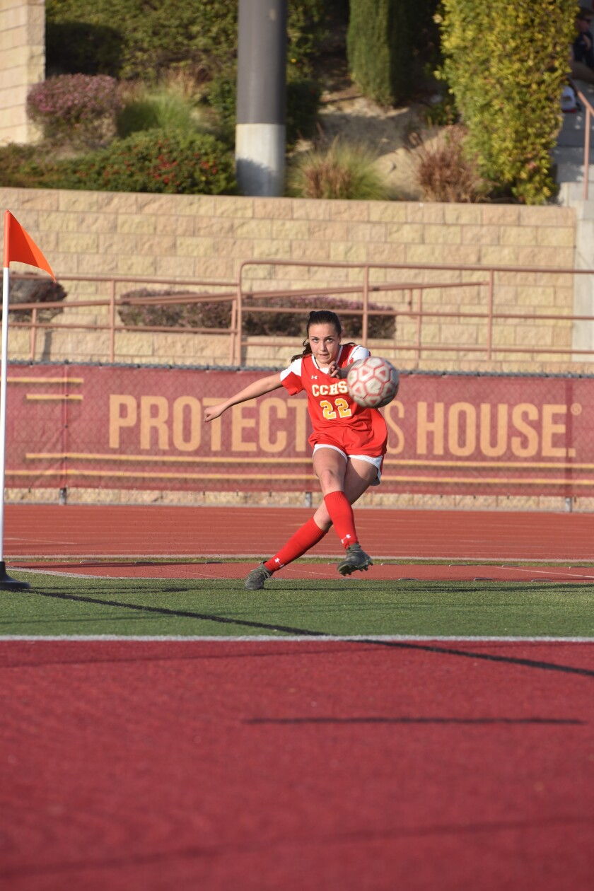 Sophia Aragon of Cathedral Catholic.