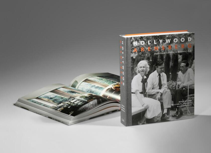 """The book """"Hollywood Arensbergs"""""""