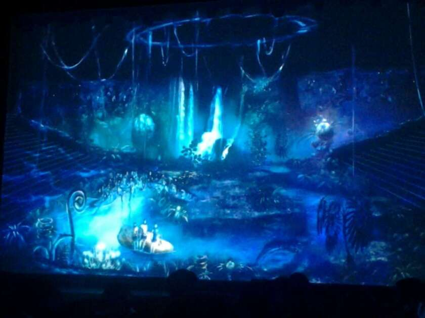 "This preview image shows a scene from ""Toruk,"" an upcoming Cirque du Soleil production inspired by the film ""Avatar"" that will be unveiled in China in 2017."
