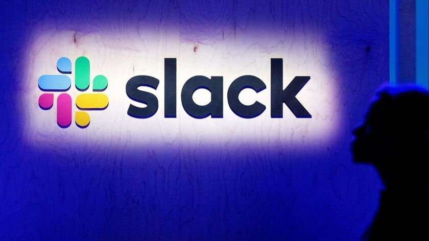 FILES-US-IT-lifestyle-IPO-Slack-stock-computers