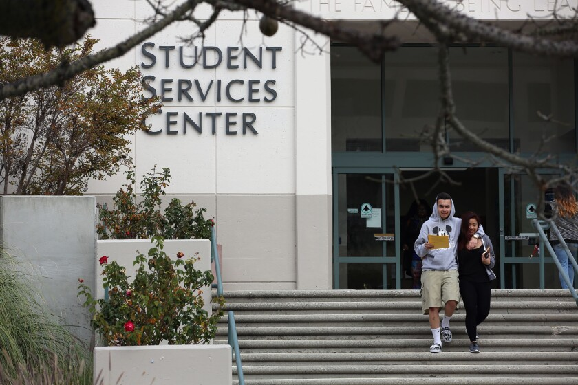 """""""Federal support for higher education is vital for those seeking to overcome socioeconomic disadvantages,"""" argues Judah Bellin."""