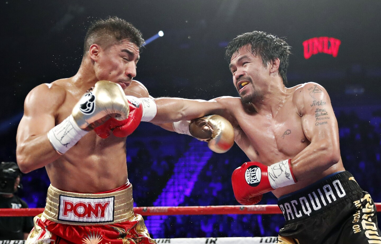 Manny Pacquiao vs. Jessie Vargas