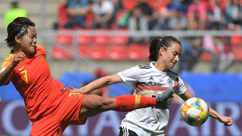 f7989c42 Women's World Cup: Germany, Spain claim Group B wins - Los Angeles Times