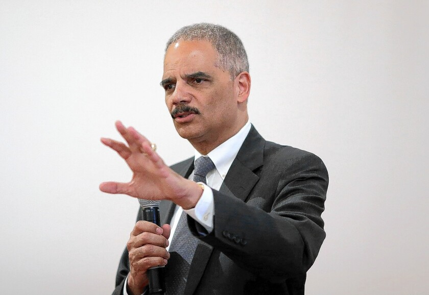 Eric Holder asserts his commitment to fighting heroin