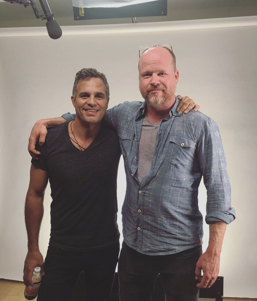 Mark Ruffalo and Joss Whedon.