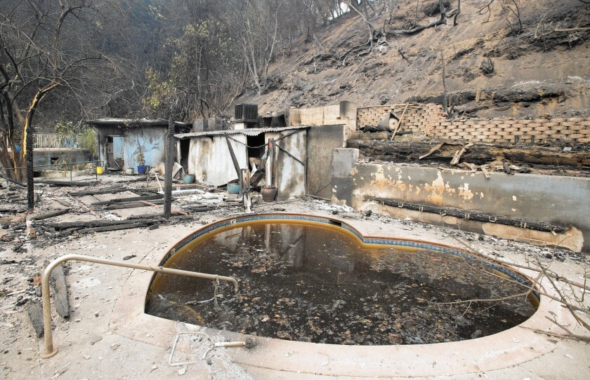 Harbin Hot Springs ravaged by fire