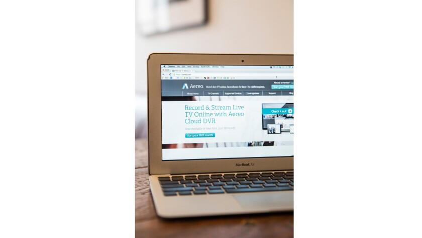 The Supreme Court ruled against Aereo in a copyright case on Wednesday.
