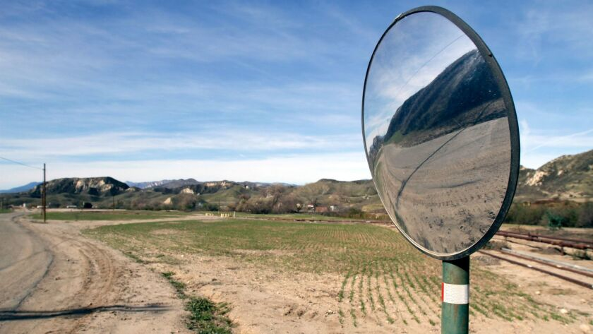 Newhall Ranch, the site of a proposed housing development, in 2011. The Santa Clarita Valley project secured approval for two of five planned villages in July, but environmental groups have filed suit.
