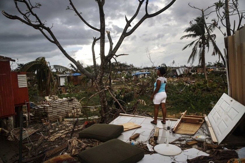 Best of Year 2017: Puerto Rico Faces Extensive Damage After Hurricane Maria