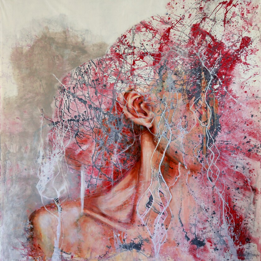 """""""Have No Shame,"""" by Andrea Moni is featured in OCCCA's """"Collaborate, Create and Heal"""" exhibit."""