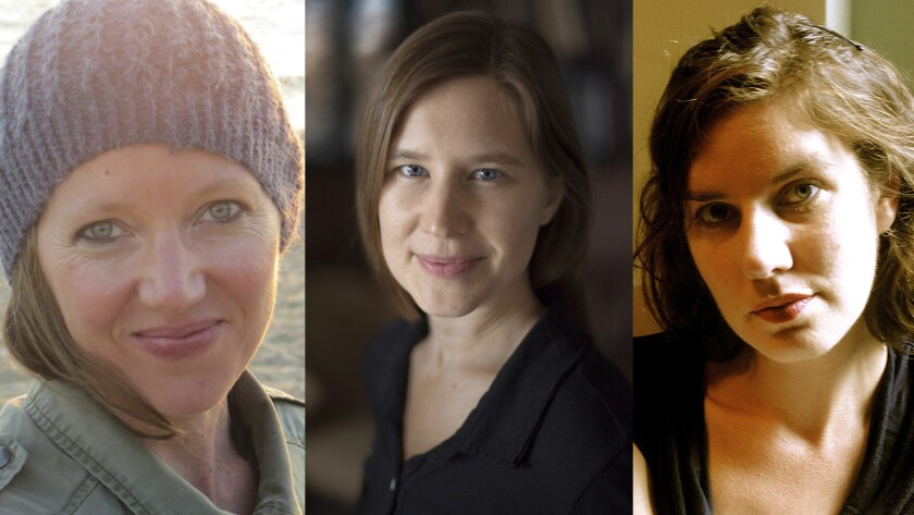 Authors Maggie Nelson, Eula Biss and Leslie Jamison