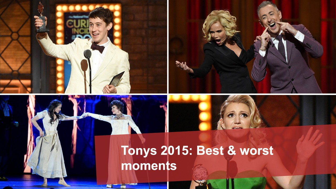 Tonys 2015: Best and worst moments