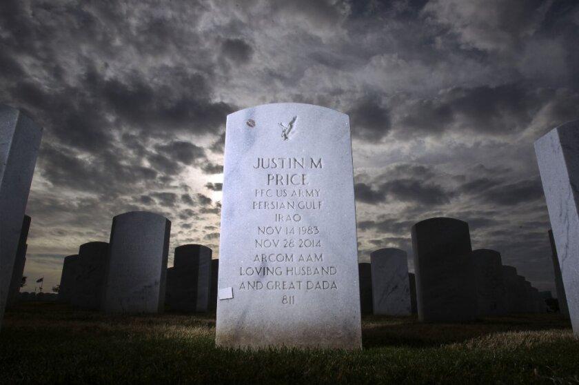 Army veteran Justin Price