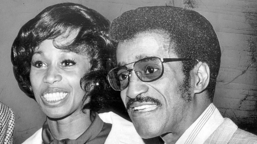 Altovise and Sammy Davis Jr. in 1972