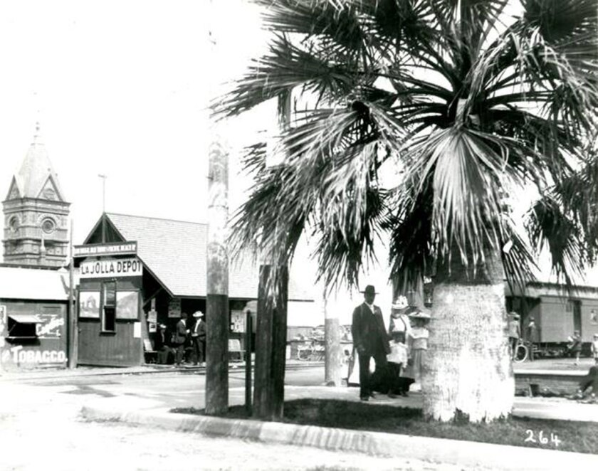 """The """"La Jolla Depot"""" was not in La Jolla. It sat at the foot of D Street next to the Santa Fe Station."""